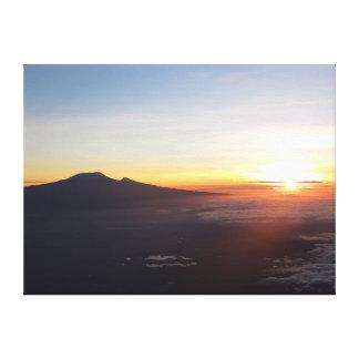 Mount Kilimanjaro sunrise Gallery Wrapped Canvas