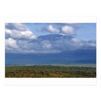 Mount Kilimanjaro Tanzania Landmark Landscapes Postcard