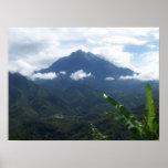 Mount Kinabalu Print