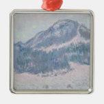 Mount Kolsaas, Norway, 1895 Christmas Tree Ornament