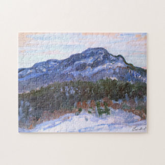Mount Kolsaas, Norway Monet Fine Art Puzzle