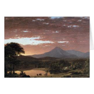 Mount Ktaadn (Katahdin) by Frederick Edwin Church Card