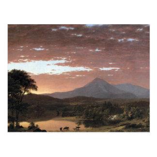 Mount Ktaadn (Katahdin) by Frederick Edwin Church Postcard