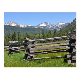 Mount Lassen National Volcanic Park Postcard