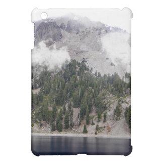 Mount Lassen Volcano in the clouds iPad Mini Covers