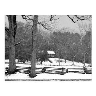 Mount Locust Inn - Natchez Trace Parkway Postcard