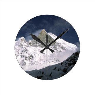 Mount Machhapuchhre, Fish Tail peak Nepal Round Clock