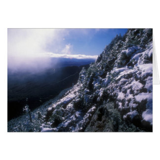Mount Mansfield Clearing Storm Card