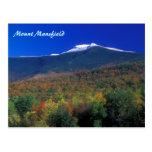 Mount Mansfield Seasons Postcard