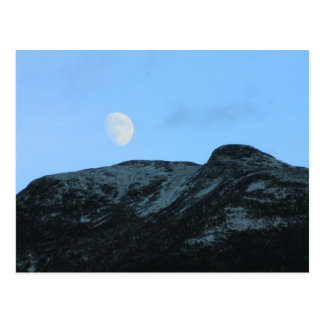Mount Mansfield Summit Moon Postcard