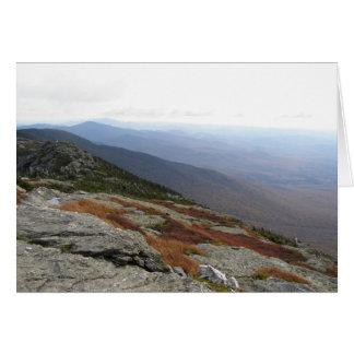 Mount Mansfield Vermont Card