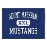 Mount Markham Mustangs Middle West Winfield Card