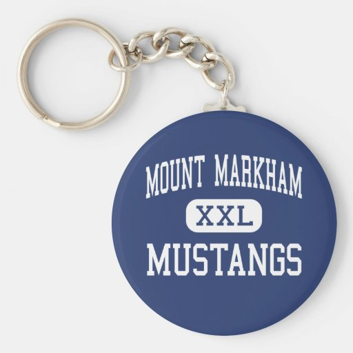Mount Markham Mustangs Middle West Winfield Key Chains