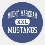 Mount Markham Mustangs Middle West Winfield Sticker