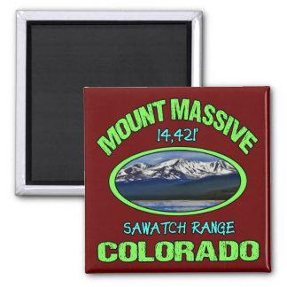Mount Massive, Colorado Magnet