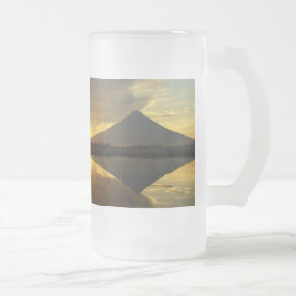Mount Mayon,Philippines Value Frosted Glass Mug