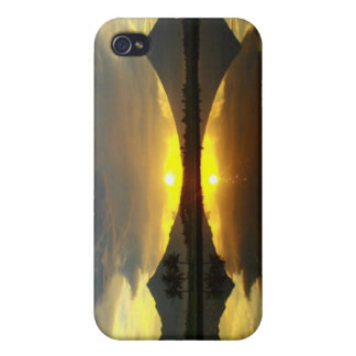 Mount Mayon Volcano, Hard Shell for Iphone 4/4S Cover For iPhone 4
