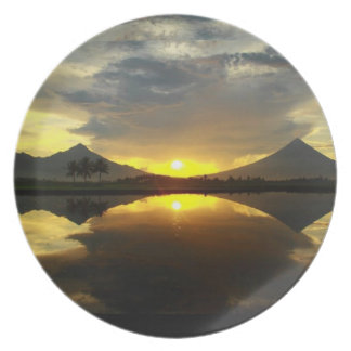 Mount Mayon Volcano, Philippines Plate