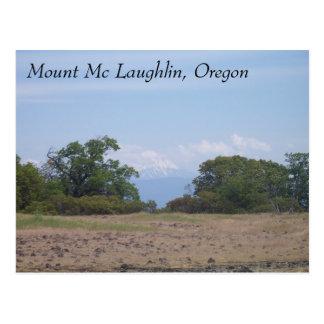 Mount Mc Loughlin, Oregon Postcard