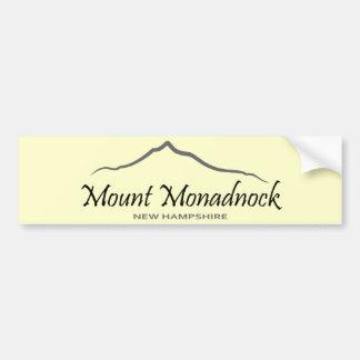 Mount Monadnock Bumper Sticker