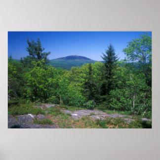 Mount Monadnock from Little Monadnock Mountain Poster
