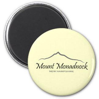 Mount Monadnock 2 Inch Round Magnet