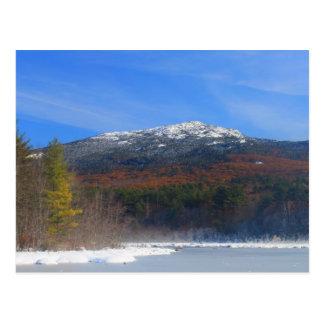 Mount Monadnock Snow and Oak Foliage Postcard