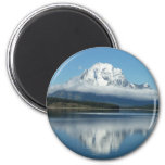 Mount Moran Reflection at Grand Teton Magnet