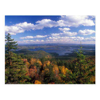 Mount Morgan and Squam Lake in Autumn Postcard