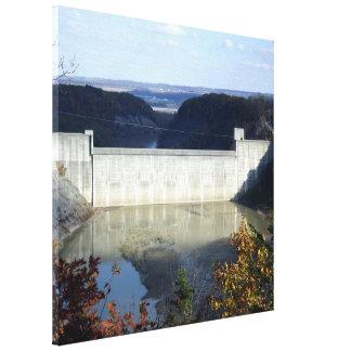Mount Morris Dam at Letchworth State Park print