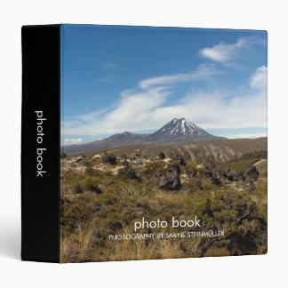 Mount Ngauruhoe Mount Tongariro Binder
