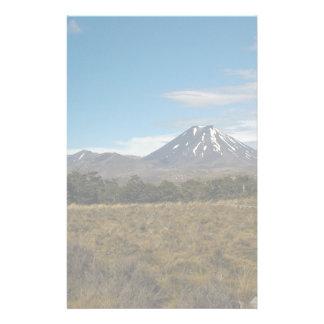 Mount Ngauruhoe Mount Tongariro Custom Stationery