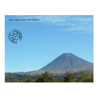 Mount Ngauruhoe (New Zealand) postcard