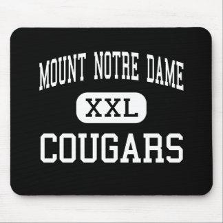 Mount Notre Dame - Cougars - High - Cincinnati Mouse Pad