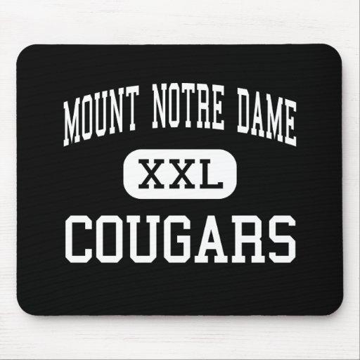 Mount Notre Dame - Cougars - High - Cincinnati Mouse Pads