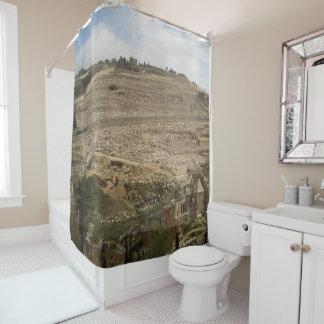 Mount of Olives Jerusalem Shower Curtain