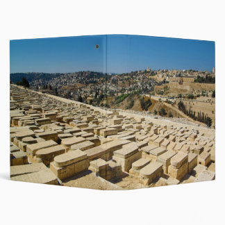 Mount of Olives Jewish Cemetery Jerusalem Israel Binder