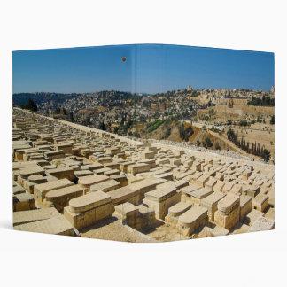 Mount of Olives Jewish Cemetery Jerusalem Israel Binder