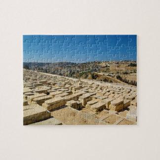 Mount of Olives Jewish Cemetery Jerusalem Israel Jigsaw Puzzle