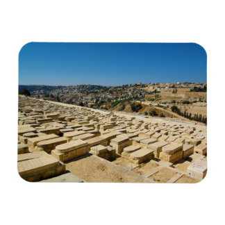 Mount of Olives Jewish Cemetery Jerusalem Israel Magnet