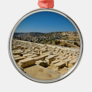 Mount of Olives Jewish Cemetery Jerusalem Israel Metal Ornament