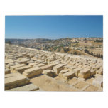 Mount of Olives Jewish Cemetery Jerusalem Israel Scratch Pad