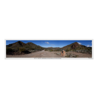 Mount Oliphant Panorama in Arkaroola Poster