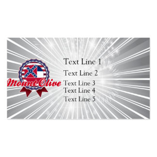 Mount Olive, MS Business Cards