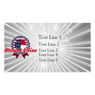 Mount Olive, NC Business Cards