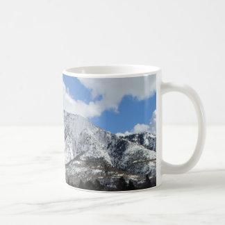 Mount Olympus in Utah Coffee Mug