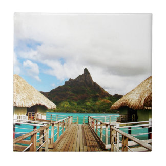 Mount Otemanu Ceramic Tile