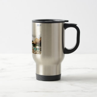 Mount Otemanu Travel Mug