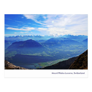 Mount Pilatus, Lucerne, Switzerland Postcard