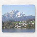 Mount Pilatus Switzerland Mouse Pads